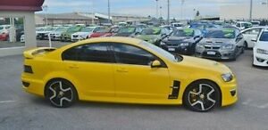 2010 Holden Special Vehicles GTS E Series 3 Yellow 6 Speed Manual Sedan Bayswater Bayswater Area Preview