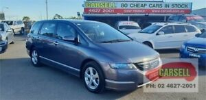 2006 Honda Odyssey 3rd Gen Grey 5 Speed Sports Automatic Wagon Campbelltown Campbelltown Area Preview