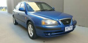 2004 Hyundai Elantra XD MY04 Blue 4 Speed Automatic Hatchback Cheltenham Kingston Area Preview