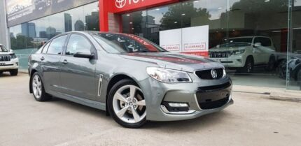 2016 Holden Commodore VF II MY16 SV6 Grey 6 Speed Sports Automatic Sedan Southbank Melbourne City Preview