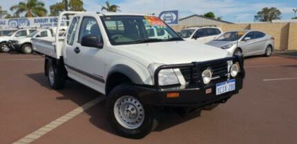 2006 Holden Rodeo RA MY06 LX Space Cab White 5 Speed Manual Cab Chassis East Bunbury Bunbury Area Preview