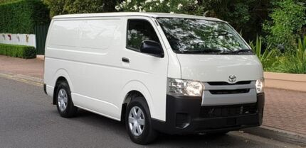 2014 Toyota Hiace KDH201R MY14 LWB White 4 Speed Automatic Van Prospect Prospect Area Preview