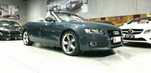 2010 Audi A5 8T MY10 S Tronic Quattro 7 Speed Sports Automatic Dual Clutch Cabriolet Laverton North Wyndham Area Preview