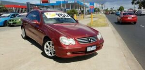 2004 Mercedes-Benz CLK320 C209 Elegance 5 Speed Auto Touchshift Coupe Deer Park Brimbank Area Preview