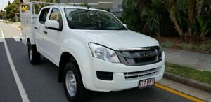 2016 Isuzu D-MAX TF MY15.5 SX (4x4) White 5 Speed Automatic Crew Cab Chassis Southport Gold Coast City Preview