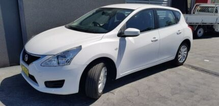 2015 Nissan Pulsar C12 Series 2 ST White 1 Speed Constant Variable Hatchback Taylors Beach Port Stephens Area Preview