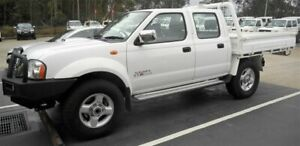 2012 Nissan Navara D22 Series 5 ST-R (4x4) White 5 Speed Manual Dual Cab Pick-up Singleton Heights Singleton Area Preview