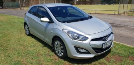 2013 Hyundai i30 GD Active Silver 6 Speed Sports Automatic Hatchback Hyde Park Unley Area Preview