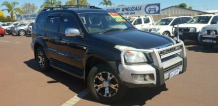 2006 Toyota Landcruiser Prado GRJ120R GXL Black 5 Speed Automatic Wagon East Bunbury Bunbury Area Preview