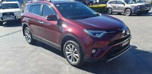 2017 Toyota RAV4 ASA44R Cruiser AWD Red 6 Speed Sports Automatic Wagon Taylors Beach Port Stephens Area Preview