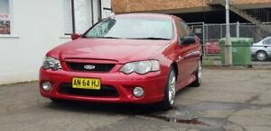 2006 Ford Falcon BF MK11 XR6 Sedan 4dr Spts Auto 6sp 4.0i Red Automatic Sedan Liverpool Liverpool Area Preview