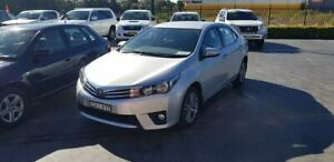 2015 Toyota Corolla ZRE172R SX S-CVT Silver 7 Speed Constant Variable Sedan Taylors Beach Port Stephens Area Preview