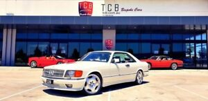 1984 Mercedes-Benz 500SEC W126 White Automatic Coupe Laverton North Wyndham Area Preview