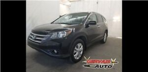 Honda CR-V Touring AWD Navigation Cuir Toit Ouvrant MAGS 2013
