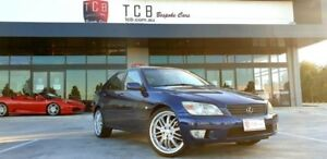 2001 Lexus IS200 GXE10R Sports Luxury Blue 4 Speed Automatic Sedan Laverton North Wyndham Area Preview