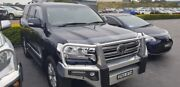 2017 Toyota Landcruiser VDJ200R Sahara Blue 6 Speed Sports Automatic Wagon Taylors Beach Port Stephens Area Preview
