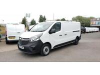 Vauxhall Vivaro L2 H1 2900 1.6 115PS EURO 5 DIESEL MANUAL WHITE (2015)