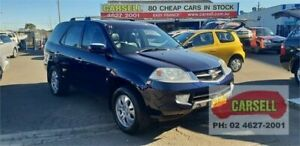 2003 Honda MDX YD1 4WD Blue 5 Speed Automatic Wagon Campbelltown Campbelltown Area Preview