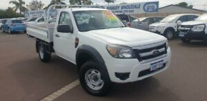 2011 Ford Ranger PK XL White 5 Speed Manual Cab Chassis East Bunbury Bunbury Area Preview