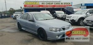 2008 Ford Falcon BF Mk II XR6 Grey 6 Speed Sports Automatic Sedan Campbelltown Campbelltown Area Preview