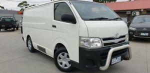 2012 Toyota HiAce TRH201R MY11 LWB White 5 Speed Manual Van Dandenong Greater Dandenong Preview