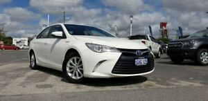 2017 Toyota Camry AVV50R Altise White 1 Speed Constant Variable Sedan Hybrid Morley Bayswater Area Preview