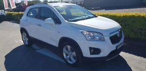 2013 Holden Trax TJ MY14 LTZ White 6 Speed Automatic Wagon Taylors Beach Port Stephens Area Preview