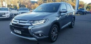 2017 Mitsubishi Outlander ZK MY17 LS 4WD Safety Pack Grey 6 Speed Constant Variable Wagon Goulburn Goulburn City Preview