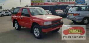1996 Holden Frontera M7 Red 5 Speed Manual Hardtop Campbelltown Campbelltown Area Preview
