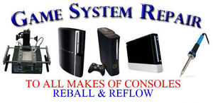 **CONSOLE-REPAIR** TO ALL MAKES XBOXONE/PS4/WIIU/ETC..GOOD RATES