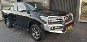 2016 Toyota Hilux GUN126R SR5 Extra Cab Black 6 Speed Manual Utility Taylors Beach Port Stephens Area Preview