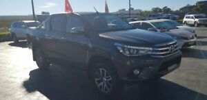 2015 Toyota Hilux GUN126R SR5 Double Cab Grey 6 Speed Sports Automatic Utility Taylors Beach Port Stephens Area Preview