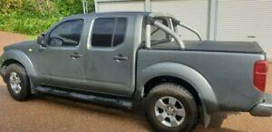 2010 Nissan Navara D40 ST (4x4) Silver Automatic Dual Cab Pick-up Bungalow Cairns City Preview
