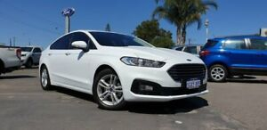 2019 Ford Mondeo MD 2019.5MY Ambiente PwrShift White 6 Speed Sports Automatic Dual Clutch Hatchback Morley Bayswater Area Preview