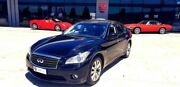 2012 Infiniti M30D Y51 S Premium Black Obsidian 7 Speed Sports Automatic Sedan Laverton North Wyndham Area Preview