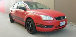 2006 Ford Focus LS CL Red 5 Speed Manual Hatchback Cheltenham Kingston Area Preview