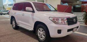 2015 Toyota Landcruiser GXL White Automatic Wagon Mackay Mackay City Preview