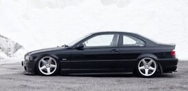 Ac Schnitzer alloy wheels, rims, 17inch, 5x120 Bmw e36, concave stance slammed