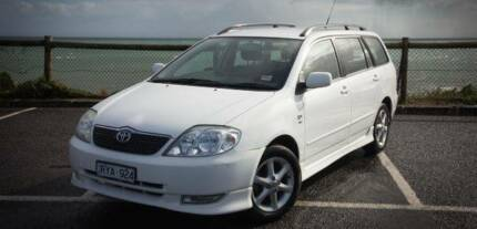 2004 Toyota Corolla Levin Manual Wagon Upwey Yarra Ranges Preview