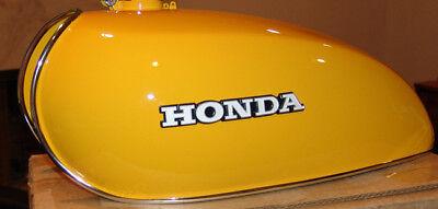 Gas Tank Trim - HONDA FUEL/GAS TANK CHROME TRIM MOLDING/MOULDING CB 550 650 CB500 CB550 CB650