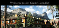 Grand Canadian Resort in Canmore - 30 mins from Banff  (Aug 1-8)