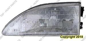 Head Light Driver Side Exclude Cobra High Quality Ford Mustang 1994-1998