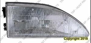 Head Lamp Passenger Side Exclude Cobra High Quality Ford Mustang 1994-1998