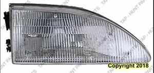 Head Light Passenger Side Exclude Cobra High Quality Ford Mustang 1994-1998