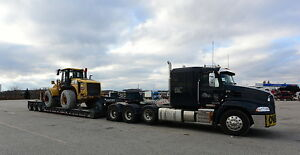 FLOAT SERVICE: 55 ton lowboy to move your heavy equipment