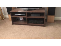 TV Unit for sale in dark brown