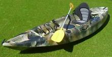 Scorpio Terrapin Fishing Kayak plus seat plus paddle West Gosford Gosford Area Preview