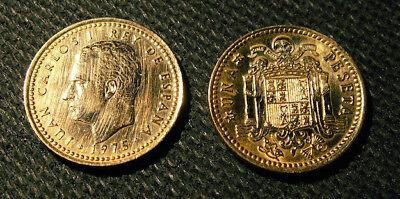 1 Spanischer Peseta 1975