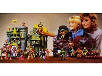 He-Man, Masters Of The Universe, She-Ra, The A-Team, Secret Wars, etc. Action Figures