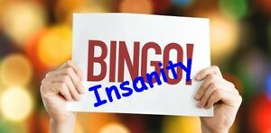 Play BINGO INSANITY at your next event!
